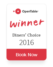 OpenTable Diners' Choice Awards